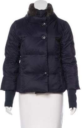 Max Mara Weekend Fur-Trimmed Puffer Jacket