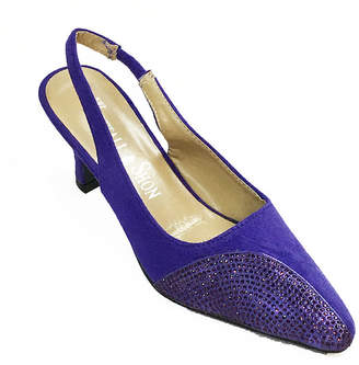 Whittall & Shon Crescent Womens Pumps Soft Toe Cone Heel