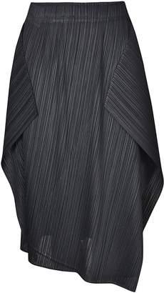 MM6 MAISON MARGIELA Mm1 Maison Margiela Asymmetric Hem Pleated Skirt