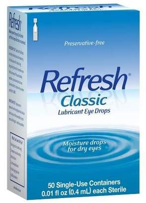 Refresh Classic, Lubricant Eye Drops $17.99 thestylecure.com