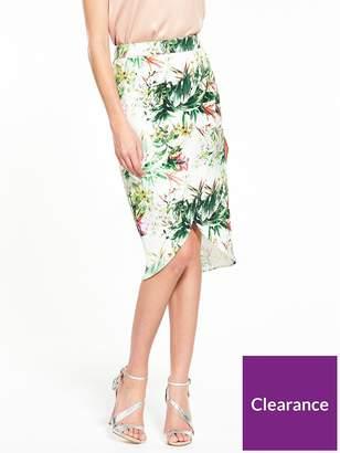 Very Printed Midi Skirt