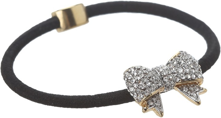 Juicy Couture Pave Bow Elastic (Gold) - Accessories