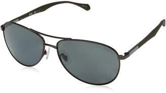 HUGO BOSS BOSS by Men's B0824s Polarized Aviator Sunglasses