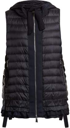 Moncler Dioptase quilted down gilet