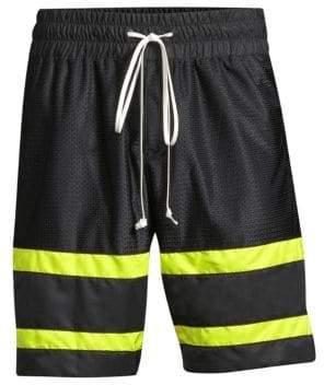 Stripe Gym Shorts