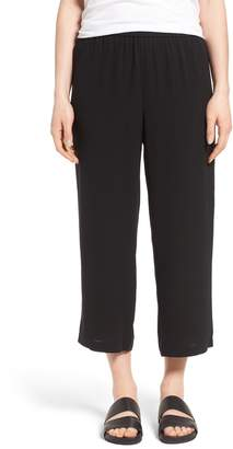 Eileen Fisher Silk Crop Pants