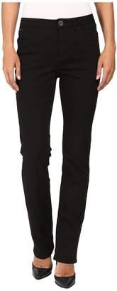 FDJ French Dressing Jeans Supreme Denim Olivia Straight Leg in Black Women's Jeans