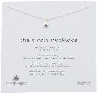 Dogeared The Circle Classic Ball Pendant Necklace