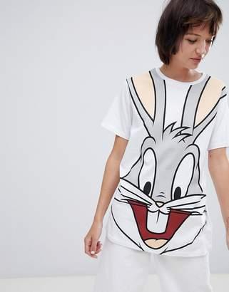 Asos DESIGN t-shirt with bugs bunny print