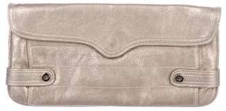 Rebecca Minkoff Metallic Leather Clutch
