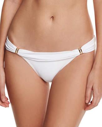 Vix Bia Solid Swim Bikini Bottom, White