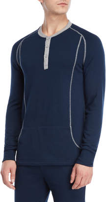 2xist Long Sleeve Henley