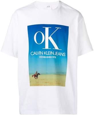 Calvin Klein Jeans Est. 1978 logo T-shirt