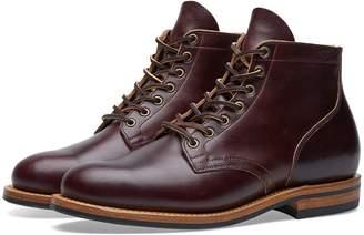 Viberg Plain Toe Service Boot