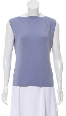 Agnona Sleeveless Cashmere Top