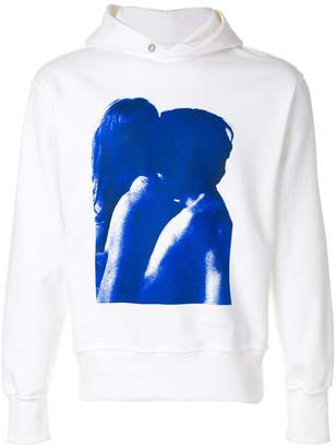 Misbhv printed hooded sweatshirt