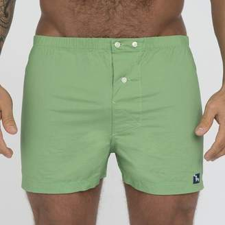 Blade + Blue Solid Bright Green Boxer Short - Jens