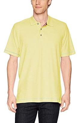Robert Graham Men's Messenger Short Sleeve Pique Polo