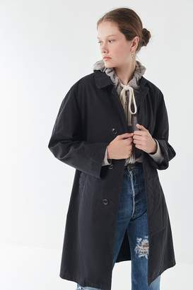 Urban Renewal Vintage Oversized Longline Military Jacket