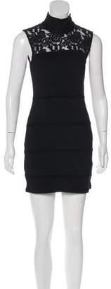 Alice + Olivia Lace Mini Dress