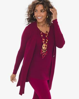 Chico's Chicos Button-Front Cardigan