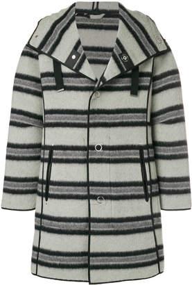 Lanvin striped loose jacket