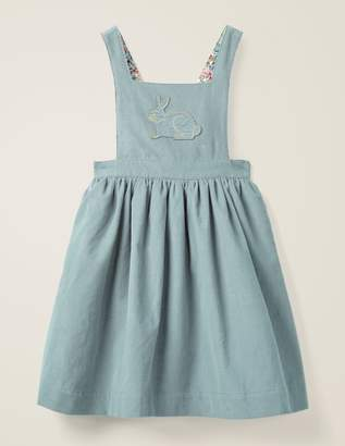 Boden Embroidered Pinafore Dress