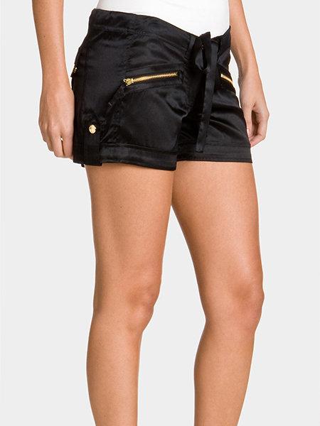 Maritza Silk Shorts
