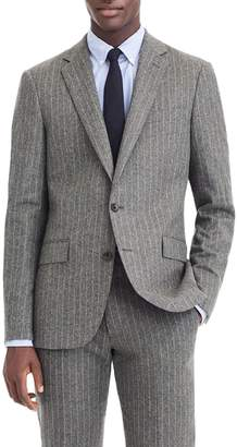 J.Crew Ludlow Slim Fit Chalk Stripe Wool Blend Suit Jacket
