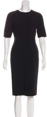 Giorgio Armani Short Sleeve Midi Dress