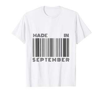 Made in September - Funny Barcode Design for Men and Women