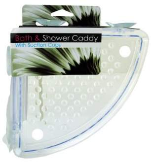 Bulk Buys Corner Shower Caddy With Suction Cups (Pack Of 8)