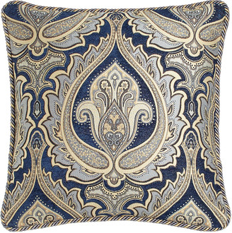 """Horchow Austin Horn Classics 20""""Sq. Reversible Pillow with Cord Trim"""