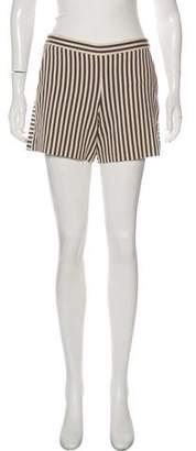 Tory Burch Striped Short Shorts