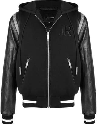 John Richmond hooded bomber jacket