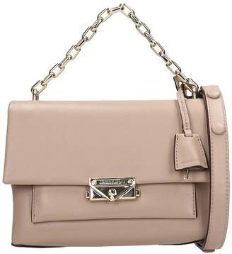 Michael Kors Taupe Leather Md Bag