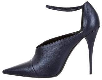 Narciso Rodriguez Ankle Strap Pointed-Toe Pumps