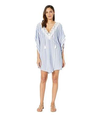 Dotti Tassel Talk Poncho Cover-Up