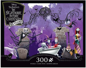 at kohls disney disneys the nightmare before christmas 25th anniversary 300 piece puzzle by ceaco