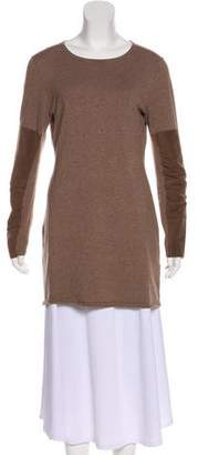 Minnie Rose Scoop Neck Knit Tunic