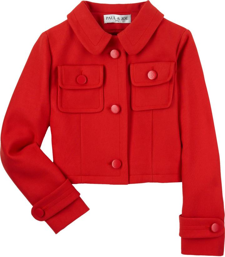 Paul & Joe Cropped cotton jacket