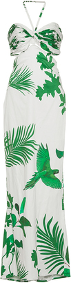 Johanna Ortiz M'O Exclusive Selva Halter Dress $1,850 thestylecure.com