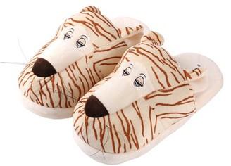 AERUSI Tiger Plush Animal Slipper 2 Pair (1 Women's and 1 Kid's) Bundle Pack