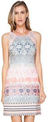 Hale Bob Tara Sleeveless Microfiber Dress