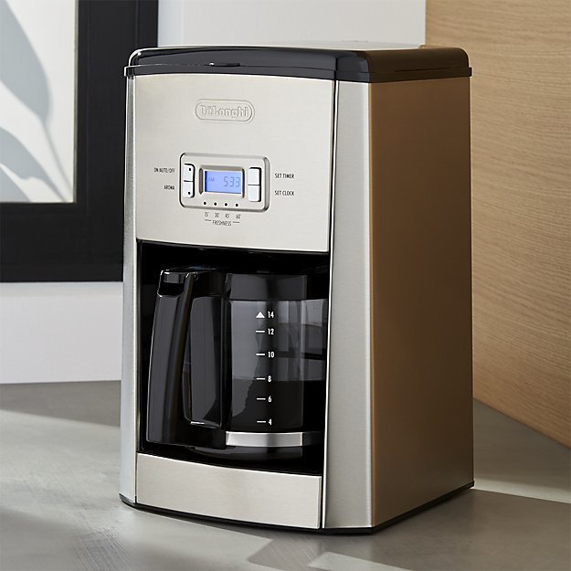 DeLonghi ® 14-cup Programmable Drip Coffee Maker