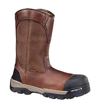 """Carhartt Men's Ground Force 10"""" Waterproof Composite Toe CME1355 Wellington Industrial Boot"""