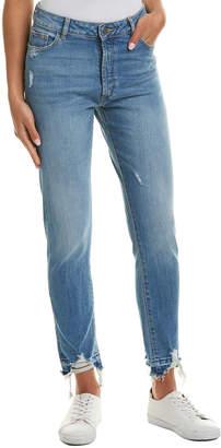 DL1961 Premium Denim Bella Rad Indigo High-Rise Vintage Slim Leg