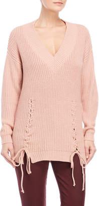 Vero Moda Chunky Lace-Up Pullover