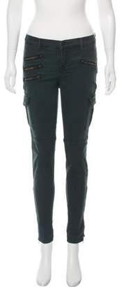 J Brand Mid-Rise Skinny Cargo Pants