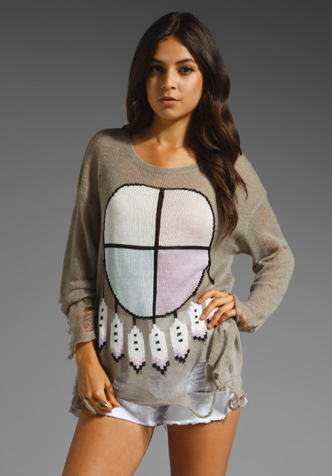 Wildfox Couture Lennon Gypsy Baby Sweater